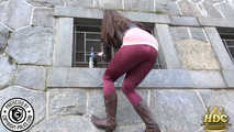 Valentina the hot Milf with a wet Spandex Jeans 7