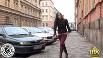 Valentina the hot Milf with a wet Spandex Jeans 9