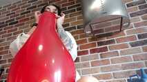 Mishel Kitchen series - Red blow to pop low angle 6