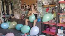 Mishel Full Custom 100 Balloons - Part 4 (Non Popping) 7
